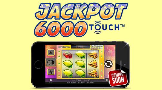 Jackpot 6000 som mobilslot