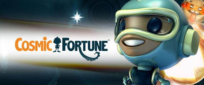 Cosmic Fortune med fem jackpottar