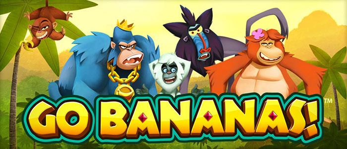 Go Bananas – galet värre från NetEnt