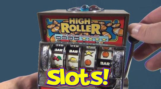 Slots för high rollers