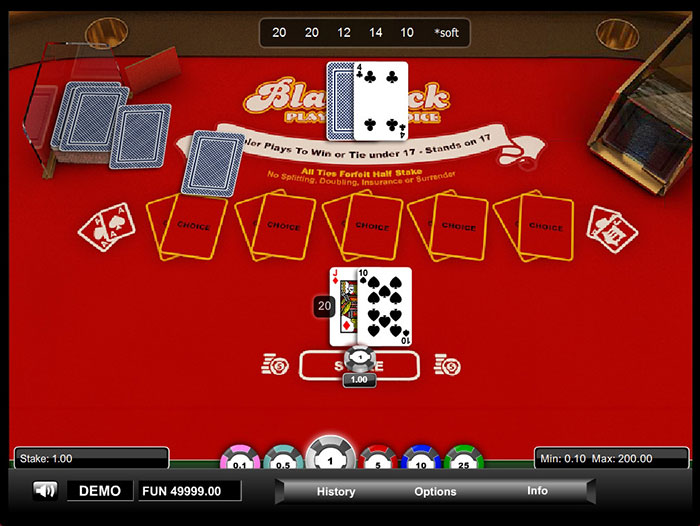Prova Player's Choice Blackjack